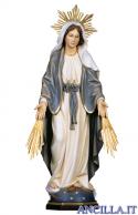 Madonna miracolosa con raggi e raggiera olio