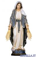 Madonna miracolosa con raggi olio