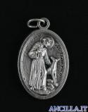 Medaglia di San Francesco d'Assisi con il lupo