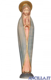 Madonna di Fatima stilizzata acquarello