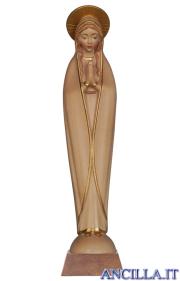 Madonna di Fatima stilizzata brunito 3 colori