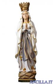 Madonna di Lourdes con corona modello 2 olio