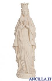 Madonna di Lourdes con corona naturale