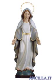 Madonna miracolosa moderna con corona di stelle olio