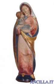 Madonna Pema anticata oro e con manto oro