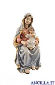 Maria Santissima con Bambino Kostner serie 16 cm