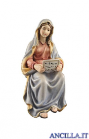 Maria Santissima con Sacre Scritture Kostner serie 16 cm