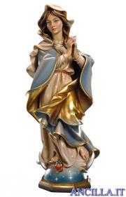 Maria Santissima Immacolata barocca olio