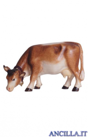 Mucca che pascola Mahlknecht serie 9,5 cm