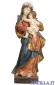 Madonna Alpbach anticata oro