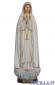 Madonna di Fatima Capelinha rifinitura antica con oro zecchino