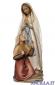 Madonna di Lourdes con Bernadette olio modello 1