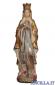 Madonna di Lourdes con corona anticata oro e argento