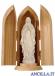 Madonna di Lourdes modello 1 naturale