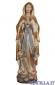 Madonna di Lourdes modello 2 anticata oro e argento