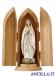 Madonna di Lourdes stilizzata modello 1 olio