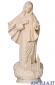 Madonna di Medjugorje con chiesa naturale