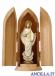 Madonna di Medjugorje Linea olio