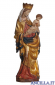 Madonna Krumauer anticata oro e con manto oro