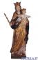 Maria Ausiliatrice anticata oro e argento