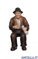 Nonno con pipa Kostner serie 9,5 cm