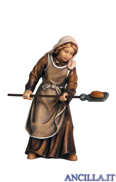 Pastora con pane Rainell serie 9 cm