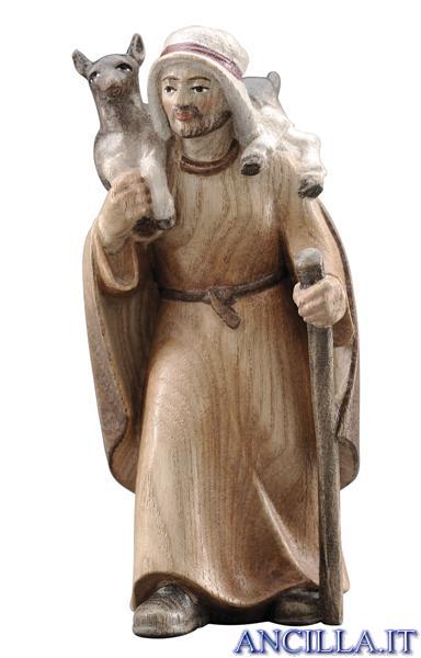 Pastore con capra Pema serie 12 cm
