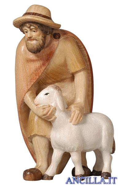 Pastore con pecora Pema serie 12 cm