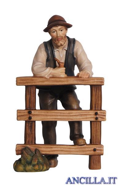 Pastore con staccionata Rainell serie 9 cm