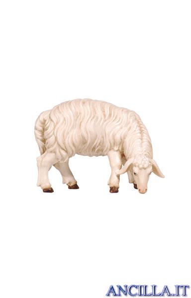 Pecora che mangia testa a destra Kostner serie 16 cm