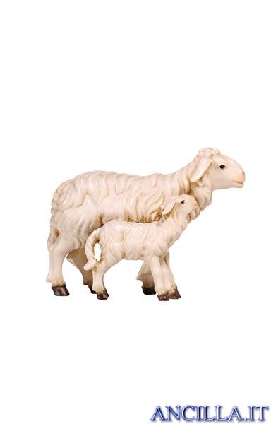 Pecora e agnello in piedi Rainell serie 22 cm