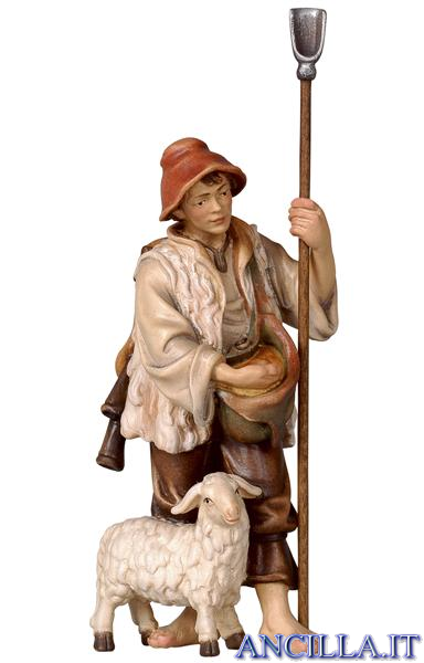 Pecoraio con pecora Rainell serie 9 cm