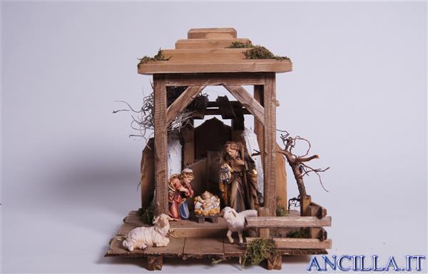 Presepio Rainell Lanterna Notte Santa - 7 pezzi