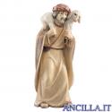 Pastore con agnello in spalla Avvento serie 16 cm