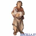 Pastore con agnello Ulrich serie 10 cm