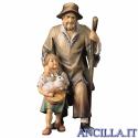 Pastore con bambina Ulrich serie 8 cm
