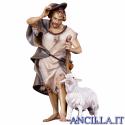 Pastore con bastone e pecora Ulrich serie 50 cm