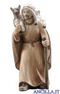 Pastore con capra Pema serie 15 cm
