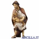 Pastore con capretta Ulrich serie 15 cm