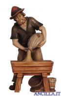 Pastore con mangiatoia Mahlknecht serie 9,5 cm