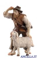 Pastore con pecora Kostner serie 9,5 cm