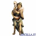 Pastore con pecora sulle spalle Ulrich serie 15 cm