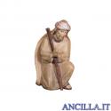 Pastore inginocchiato che prega Avvento serie 16 cm