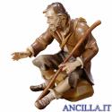 Pastore seduto con bastone Ulrich serie 10 cm