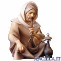Pastore seduto con pipa-acqua Cometa serie 16 cm