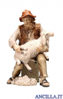 Pastore tosa una pecora Kostner serie 20 cm