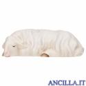 Pecora che dorme Cometa serie 12 cm