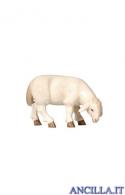 Pecora che mangia testa a destra Pema serie 30 cm