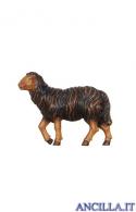 Pecora nera testa alta Kostner serie 16 cm