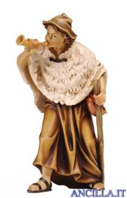 Pastore con corno Kostner serie 12 cm